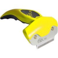 Фурминатор FoOLee One Small 4,5см желтый