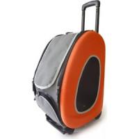 Сумка тележка Ibiyaya складная оранжевая 3