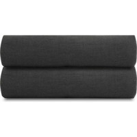 Простыня  темно серого цвета 180х270 Tkano Essential
