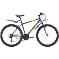 Велосипед Stark Outpost 26.1 V (2020) серый/жёлтый