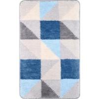 Коврик для ванной Fixsen голубой, 50x70