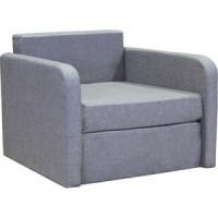 Кресло кровать Шарм Дизайн Бит светло серый