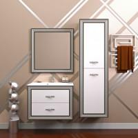 Мебель для ванной Opadiris Карат 80 белый