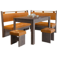 Кухонный уголок Это мебель Остин венге/оранж