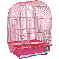 Клетка N1 35х28х49см овальная, укомплектованная для птиц (ДКпА400)