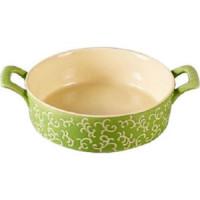 Форма для запекания круглая 30х23х7см Appetite зеленая