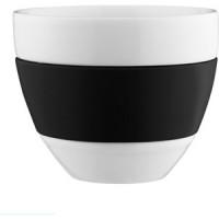 Чашка для латте 300 мл чёрная Koziol