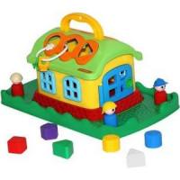 Развивающая игрушка Полесье Сказочный док на лужайке