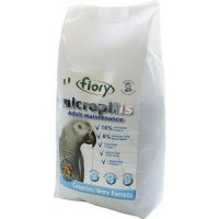 Корм Fiory Micropills Adult Maintenance Cenerini/Grey Parrots