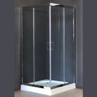 Душевой уголок Royal Bath RB L3002 80х80х185 стекло