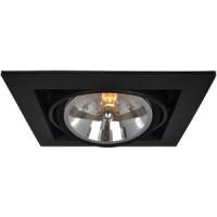 Встраиваемый светильник Artelamp A5935PL 1BK