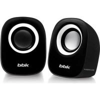 Компьютерные колонки BBK CA 303S черный/белый