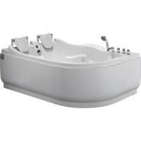Акриловая ванна Gemy 180x121 с гидромассажем (G9083