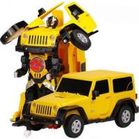 Радиоуправляемый робот трансформер MZ Model Jeep Rubicon