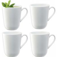 Набор из 4 округлых чашек 380
