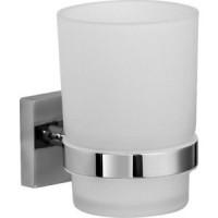 Стакан для ванны IDDIS Edifice матовое стекло/хром