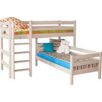 Детская угловая кровать Мебельград Соня с прямой
