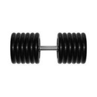 Гантель Original Fit Tools 61 кг черная