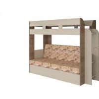 Кровать Атлант Карамель 75 Geraffe (Саванна) ясень