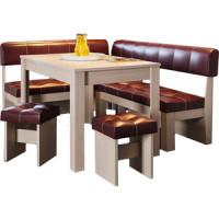 Кухонный уголок Это мебель Валенсия дуб белфорд/бордо