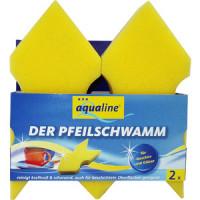 Губка Aqualine для мытья посуды из деликатных
