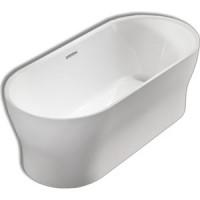 Акриловая ванна BelBagno 170x80 слив перелив хром (BB405