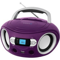 Магнитола BBK BS15BT purple
