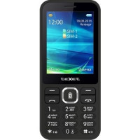 Мобильный телефон TeXet TM D327 черный