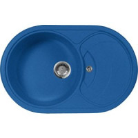 Кухонная мойка AquaGranitEx M 18S (323) синий