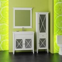 Мебель для ванной Opadiris Палермо 75 белый матовый