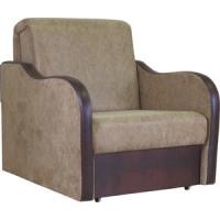 Кресло кровать Шарм Дизайн Коломбо замша коричневый