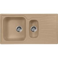 Кухонная мойка AquaGranitEx M 09K (302) песочный