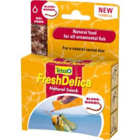 Корм Tetra FreshDelica Bloodworms Natural Food