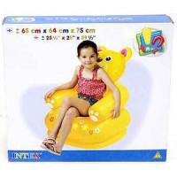 Надувное кресло Intex happy animal 3 вида
