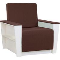 Кресло Шарм Дизайн Бруно 2 рогожка коричневый