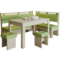 Кухонный уголок Это мебель Остин дуб белфорд/фисташка
