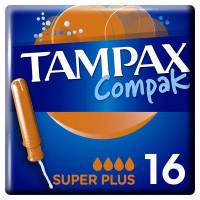 Тампоны с аппликатором TAMPAX (Тампакс) Compak Super