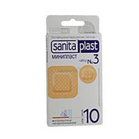 Пластырь Sanitaplast (Санитапласт) Минипласт медицинский №3