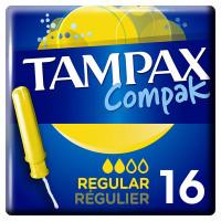 Тампоны с аппликатором TAMPAX (Тампакс) Compak Regular,