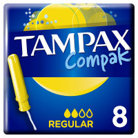 Тампоны Tampax (Тампакс) с аппликатором Compak Regular