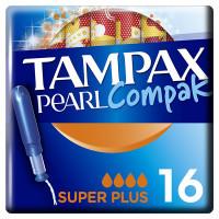 Тампоны с аппликатором TAMPAX (Тампакс) Compak Pearl