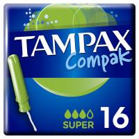 Тампоны Tampax (Тампакс) с аппликатором Compak Super