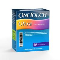 Тест полоски OneTouch (Уан тач) Ultra