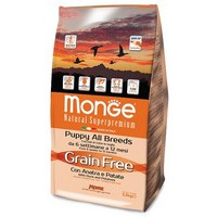 Monge Dog Grain Free Puppy Duck