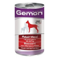 Gemon Adult Maxi Chunks Beef & Rice