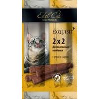 Edel Cat Деликатесные Колбаски мини для кошек