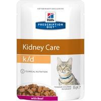 Hills Prescription Diet Feline k/d Beef