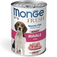 Monge Dog Fresh Adult Chunks in Loaf