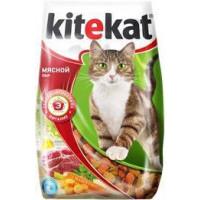 Kitekat Китикет Сухой корм для кошек Мясной