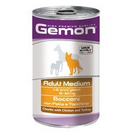 Gemon Adult Medium Chunks Chicken & Turkey
